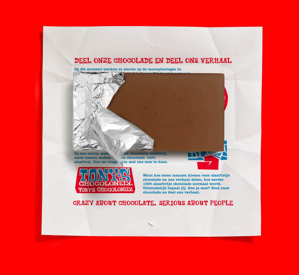 Tony Chocolonely slaafvrije chocolade